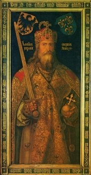 Albrecht Durer  Emperor Charlemagne 183 350 S