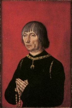 15Th Century Unknown Painters  Portrait Of Louis Of Gruuthuse  Wga23572 232 350 S