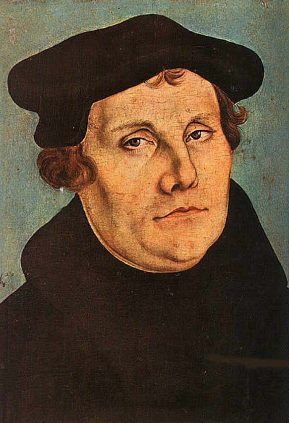 Lucas Cranach I Workshop  Martin Luther Uffizi 583 852 S C1 C C 0 0 1