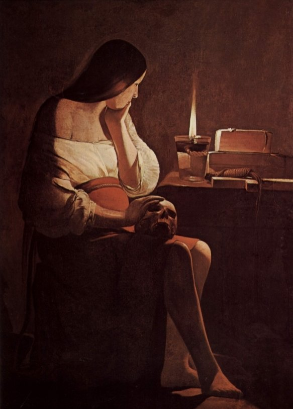 37 Mary Magdalene With A Night Light 1635 583 813 S C1 C C 0 0 1